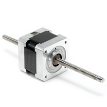 Electrocraft apps17 plus stepper type linear actuator for Linear actuator stepper motor driven