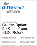 Traditional BLDC/Gearbox Combination vs LRPX with                                  Integrated Planetary Gearbox